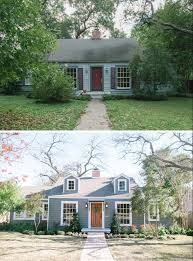 before and after inspiration remodeling ideas from hgtv what an inspiring before after on the exterior of this home total