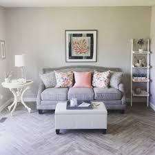 home and decor flooring a lovely living room update diy shabby chic herringbone