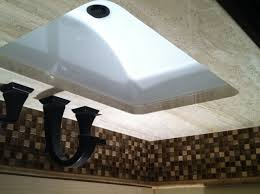 bathroom sink top backsplash for bathroom sink decor color ideas