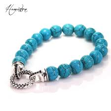 beading bracelet clasps images Thomas 10mm cyan stone bead bracelet with black zirconia paved jpg