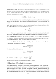 consumer credit scoring using logistic regression and random forest