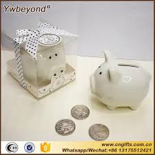baptism piggy bank ywbeyond ceramic mini piggy bank in gift box with polka dot bow