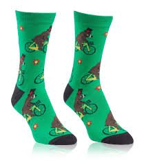 bearly moving s crew socks by sock it to me
