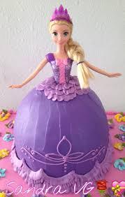 doll rapunzel cake cakes rapunzel cake