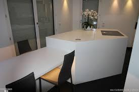 table cuisine sur mesure cuisine blanche sûr mesure ma cuisine mon coach côté maison