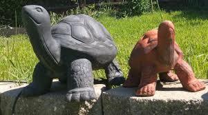 Turtle Planter Outdoor Turtle Tortoise Garden Statues Narspi