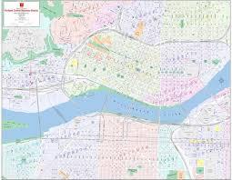 Portland Neighborhood Map Poster by Maps Update 21051488 Portland Oregon Tourist Map Fileportland