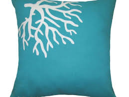 beautiful diamond turquoise cotton fabric turquoise accent pillows