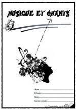 page de garde  cahier de musiques et chants  Quotes  Pinterest