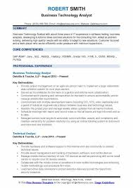 sle resume for business analyst role in sdlc phases system business technology analyst resume sles qwikresume