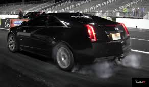 2013 cadillac cts review 2013 cadillac cts v coupe acceleration drag test launch