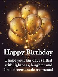 golden balloon happy birthday wishes card for grandson this sleek