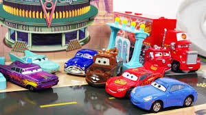Disney Springs Map Cars Radiator Springs Play Map Disney Pixar Takara Tomy Tomica Car
