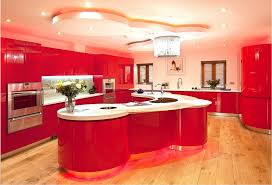 Online Buy Wholesale High Gloss Kitchen Cabinets From China High - Red lacquer kitchen cabinets