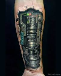 biomechanical tattoos tattoo designs tattoo pictures page 5