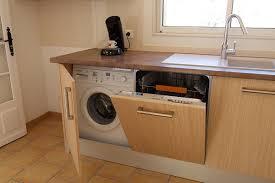 lave linge dans la cuisine meuble pour lave linge encastrable ikea maison design bahbe com