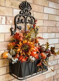 Harvest Decorations For The Home Best 25 Fall Arrangements Ideas On Pinterest Fall Table