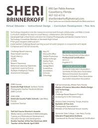 Interior Design Resume Free Resume Templates Designer Examples Instructional Sample