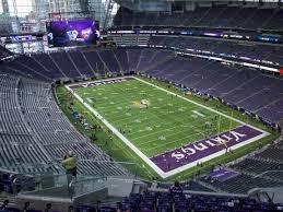 map us bank stadium u s bank stadium seating chart nfl interactive map seatgeek