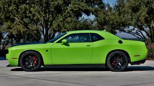 Dodge Challenger Lime Green - 2015 dodge challenger srt hellcat serial no 7 f190 kissimmee 2017