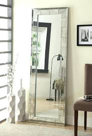 stand alone mirror with lights wall mirrors stand up standing full length mirror large medium