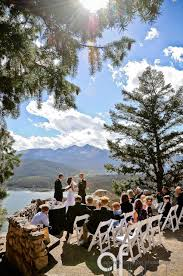 colorado weddings the wedding deck the nell in aspen colorado i do