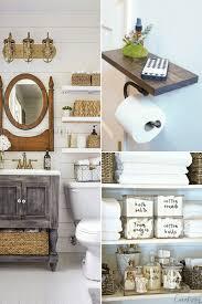 Organizing A Small Bathroom - 10 small bathroom storage and organization ideas hint hacks
