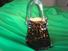 Murano Glass Purse Vase Murano Vase Flower Italian Art Glass Ebay