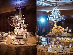 Manzanita Branches Centerpieces Crystal Tea Room Wedding Jill Brendan Robertsons Flowers And
