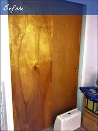 Wooden Closet Door Finishing How Should I Refinish Vintage Wooden Closet Doors
