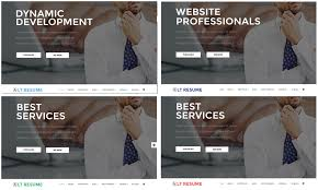 lt resume onepage free one page joomla personal resume template