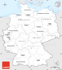 Maps Of Germany by Silver Style Simple Map Of Germany Single Color Outside