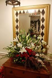 christmas flower arrangements holiday flower arrangement