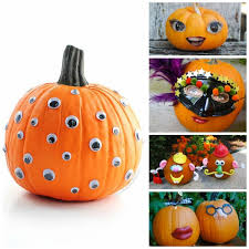 Pumpkin Decorating Without Carving 21 Ways For Kids To Decorate Pumpkins Without Carving Non Toy Gifts