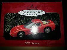 1997 hallmark corvette ornament classic american cars ebay