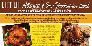 food donors and volunteers for lift up atlanta s thanksgiving food