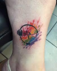 rainbow pulse tattoo pictures to pin on pinterest tattooskid