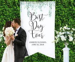 wedding backdrop sign is a beautiful thing and a wedding is the best day