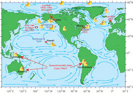 Map With Oceans Ocean Currents