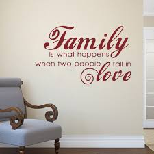 Love Happens Quotes by Family Is What Happens When Two People Fall In Love Love Wall