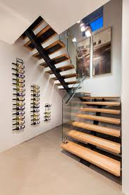 floor a wall mounted plus a wall mounted display wine rack ideas