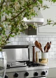 white kitchen subway tiles with dark grout contemporary kitchen