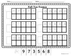 best ideas of math ten frame worksheets also free shishita world com
