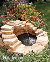 Homemade Backyard Waterfalls by 76 Best Ponds And Fountains Images On Pinterest Backyard