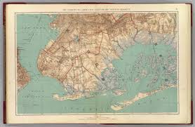 Map Jamaica Narrows Jamaica Bay Brooklyn David Rumsey Historical Map