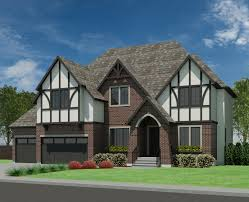 Tudor Style House Plans Tudor Abbey 3499 Robinson Plans