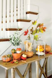 Ideas For Decorating The Top Of Kitchen Cabinets by Fall Decorating Ideas Southern Living