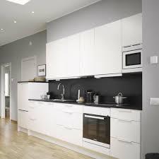 cuisine moderne blanc laqué cuisine bois et blanc laque 0 la cuisine moderne blanc