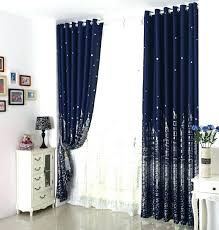 Navy Blue Sheer Curtains Sheer Navy Curtains Cobalt Blue Sheer Curtains Large Size Of