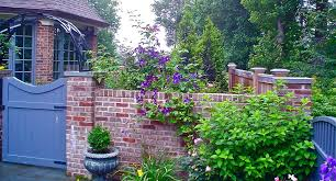 Garden Wall Paint Ideas Wood Fences Convention New York Eclectic Landscape Decorating